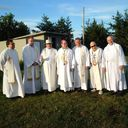 Canada Day mass at the Grotto presided by Msgr Marcel Damphousse photo album thumbnail 11